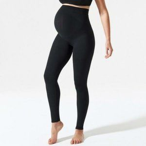 Blanqi Maternity Leggings Belly Support Black